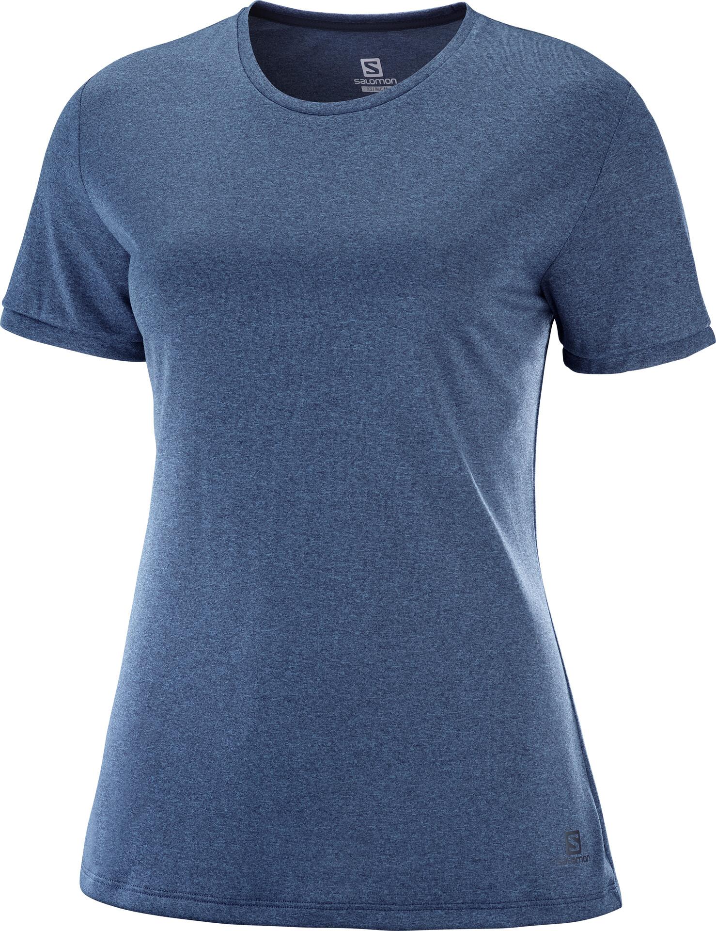 Salomon Comet Classic T shirt manches courtes Femme blanc